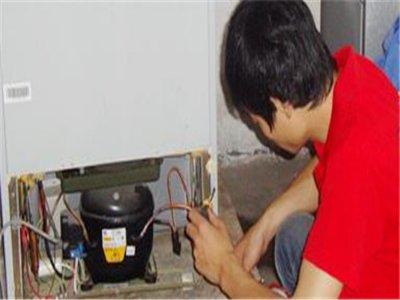 福州新飞单开门冰箱清洗管路