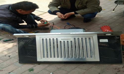 青白江区美的抽油烟机维修电话(全国24小时)--合盛服务中心