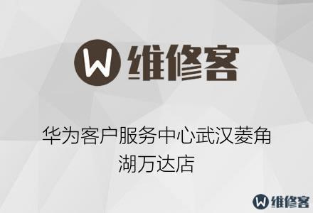 华为客户服务中心武汉菱角湖万达店
